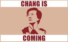 Senor Chang!