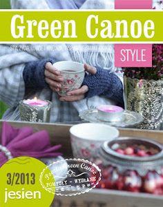 Jesienne Green Canoe Style