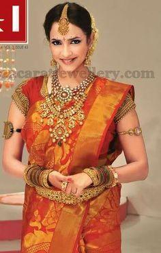 Jewellery Designs: Lakshmi Prasanna Kundan Vaddanam