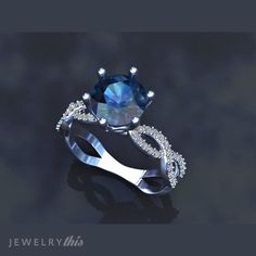 3D Jewelry Design: Engagement Ring, Solitaire style [1709-120072] » Jewelrythis