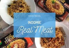 New flavors of Indomie Real Meat! #FoodTravel #Food #Foodie #FoodBlogger #InstantNoodle #Kuliner #Indomie