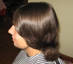 Long Hair Cuts, Long Hair Styles, Mullet Hairstyle, Mullets, Thick Hair, Haircuts, Hands, Beauty, Short Hair Up