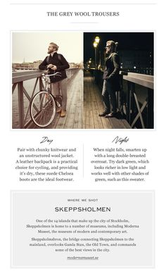 Day & Night | The Details | The Journal|MR PORTER