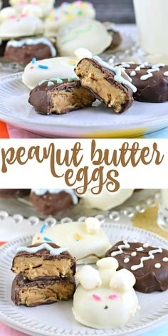 Make them at home with this fun easy Chocolate Peanut Butter Eggs recipe! Make them at home with this fun easy Chocolate Peanut Butter Eggs recipe! Peanut Butter Eggs, Chocolate Peanut Butter, Easy Delicious Recipes, Delicious Desserts, Candy Recipes, Dessert Recipes, Baking With Toddlers, Easter Recipes, Easter Desserts