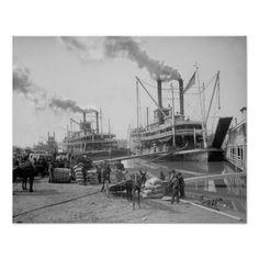 Ultimate Collection Of Rare Historical Photos. A Big Piece Of History Pictures) - Steamboats in the Mississippi Rare Historical Photos, Rare Photos, Vintage Photographs, Vintage Photos, Famous Photos, Historical Fiction, Amazing Photos, Old Pictures, Old Photos