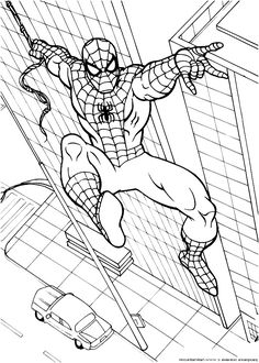 10+ best spiderman coloring pages images | spiderman