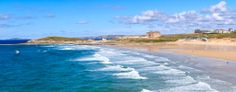 Fistral Beach beautiful as ever in Newquay Cornwall British Beaches, Newquay Cornwall, Seaside Towns, Sandy Beaches, Coastal, Water, Places, Summer, Pictures