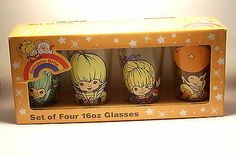 RARE Rainbow Brite Drinking Glasses NEW IN PACKAGE!!