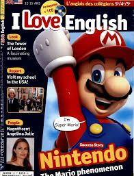 i love english n°222 : Nintendo, le phénomène Mario / Visit my school in USA! / The Tower of London, a fascinating museum