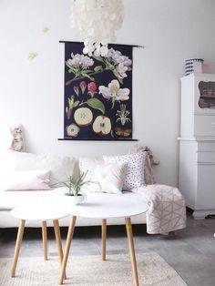 Die schönsten Wohn- und Dekoideen aus dem März | Foto von Mitglied Märchenzeit #SoLebIch #wohnzimmer #livingroom #interior #interiordesign #interiorinspiration #wandgestaltung #bilderwand #wallart