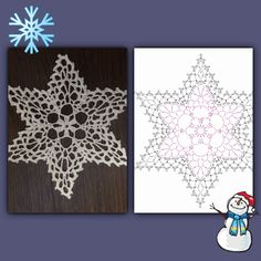 Zdjęcia na ścianie społeczności – 15,344 zdjęcia | VK Crochet Snowflake Pattern, Crochet Stars, Crochet Snowflakes, Crochet Motif, Crochet Doilies, Crochet Flowers, Crochet Christmas Ornaments, Christmas Crochet Patterns, Holiday Crochet