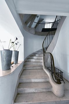 I have a weird obsession with staircases. I think this one is awesome.
