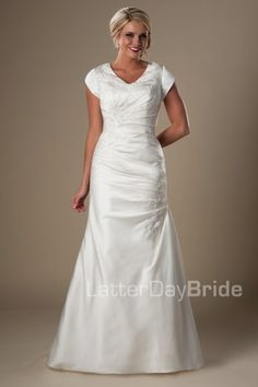 latter day bride Bayfield gown