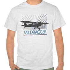 Taildragger Airplane Tshirt