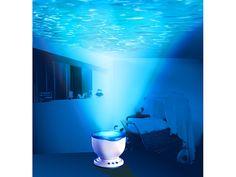 #Wasserprojektor mit eingebautem Lautsprecher. Wohlfühlatmosphäre: zaubert stimmungsvolle Lichteffekte an die Zimmerdecke