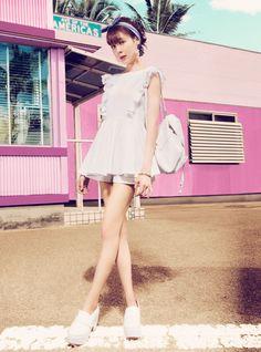 春夏におすすめホワイトコーデまとめ!通販サイトのコーディネート - 人気のレディースファッション通販ランキング プチプラ可愛いお洋服