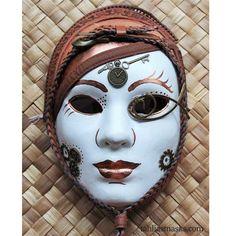 #steampunk #mask. Lady Gardenia Loffenblach: Air ship commander.