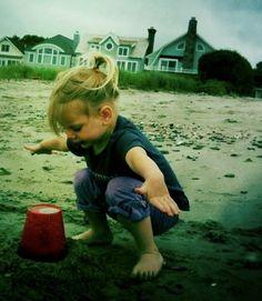 Moments in Childhood: Sand Ninja