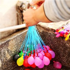 Goedkope 37 stks Water Ballon stelletje Ballon Verbazingwekkende Magic Water Ballon Bommen Speelgoed Water Ballons Spelletjes Kids Zomer Beach Party levert, koop Kwaliteit Event& party benodigdheden rechtstreeks van Leveranciers van China:   Free Shipping 5pcs Super Large 70cm Matte Latex balloon Float air balls inflatable wedding birthday party de