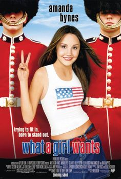 What A Girl Wants , starring Amanda Bynes, Colin Firth, Kelly Preston, Eileen Atkins. An American teenager learns that her father is a wealthy British politician running for office. Although she is eager to find him, she realizes it could cause a scandal and cost him the election. #Comedy #Drama #Romance