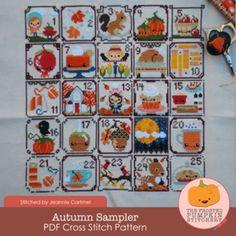 The Frosted Pumpkin Stitchery - seriously cute cross stitch patterns by Amanda & Ashleigh