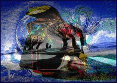 Djengis Khan caught in autumn- copyright Thea te Walvaart