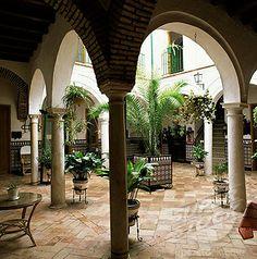 Tradicional architectura de Andalucia, Espana.