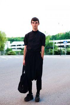 Wazowski's Blog: Police In Fashion: Street Style: MEN