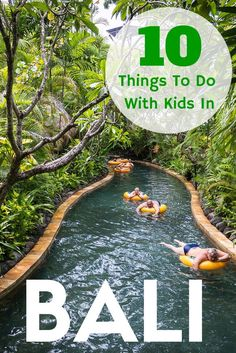 10 Things To Do With Kids In Bali. Includes Waterbom, Ubud Cycling Tour, Peekaboo, Bali Bird Park & Reptile Park, Bali Safari and Marine Park, Bali Zoo and more. TRAVEL WITH BENDER | Family Travel made easy in Bali, Indonesia.