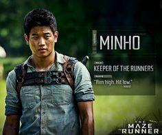 Minho - Keeper of the Runners. Saga Maze Runner, Maze Runner Quotes, Maze Runner Trilogy, Maze Runner The Scorch, Maze Runner Cast, Maze Runner Movie, Hunger Games, Teen Wolf, Foto Poster
