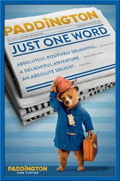 When it comes to Paddington, there's only one word that fits. #paddington