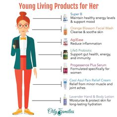 Top Young Living Products for Women