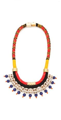 Holst + Lee necklace - bright hues for warm weather