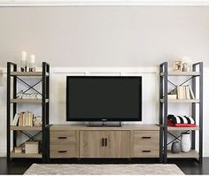 TV Stand Cabinet Storage Media Entertainment Center Urban Blend 70 Inch New
