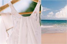 Island Beach Jewish Wedding Gown {Hilary Cam Photography Sydney} - mazelmoments.com