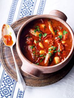 Use the Ultimate tomato sauce recipe as a base for this freezable sausage casserole recipe.