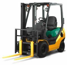 Gas & Diesel Forklift : Komatsu AX Series - 1.8 Tonne Capacity IC Engine Forklift