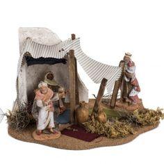 Reyes Magos ambientación pesebre 12cm, Fontanini Christian Christmas, Ceramic Houses, Stage Set, Christmas Villages, Xmas, Christmas Ornaments, Fontanini, Nativity, Wallpaper