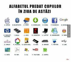 Education & Humour: Technology changing how kids learn the Alphabet – Laura Riness – technologie Kingston, Java, Teaching The Alphabet, Alphabet For Kids, Teaching Math, Image Week End, Kids Nowadays, Iphone, Alphabet Charts