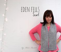 Ravelry: Eden Fells Scarf pattern by Helen Stewart