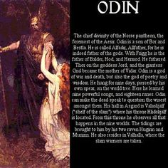 Odin - Vikings - Norse mythology                                                                                                                                                                                 More