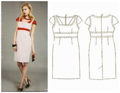New Look, High Waisted Skirt, Sewing Patterns, Two Piece Skirt Set, Vogue, Boutique, Skirts, Dresses, Flats