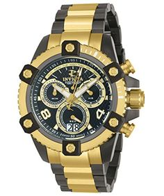 Men Watches - Invicta Mens Reserve Swiss Quartz Stainless Steel Casual Watch ColorTwo Tone Model 12983 -- Find out more about the great product at the image link. (This is an Amazon affiliate link)