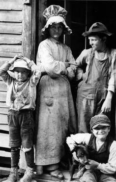 At a farm in Arkansas, May 1930