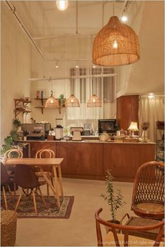Home Decoration For Anniversary Cafe Shop Design, Coffee Shop Interior Design, Plywood Furniture, Design Furniture, Design Café, House Design, Korean Coffee Shop, Bar Pub, Cafe Bar
