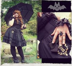 ~Elegant Gothic Lolita fabulous plus size lady; say a fuchsia; or apple green; or neutral color and I am here talking shoes Kawaii Fashion, Lolita Fashion, Cute Fashion, Gothic Fashion, Fashion Outfits, Fashion Clothes, Fashion Ideas, Plus Size Goth, Gothic Outfits
