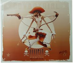 "Limited edition of 400 Rare gloss poster signed ""Martyfuck"" by Martin F Emond 2002 X Axl Rose, Comic Artist, Princess Zelda, Japanese, Culture, Comics, Cool Stuff, Illustration, Artwork"