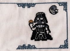 Come to the Dark Side - We have Cookies! FREE cross stitch pattern!