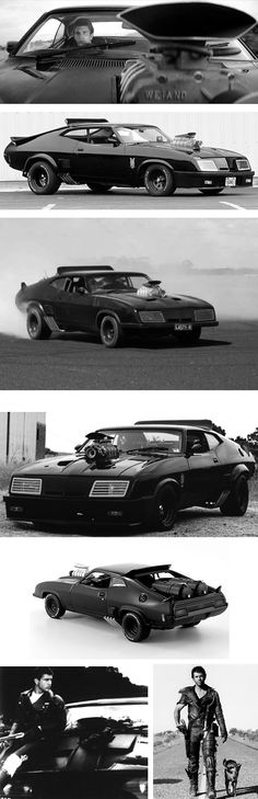 Before the vilification of cars and the men who drove them.     Ford Falcon XB GT V8 Interceptor - Mad Max, lg JJ