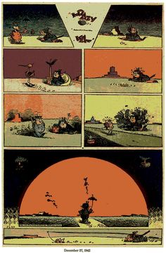 George Herriman's Krazy Kat  One of the greatest!